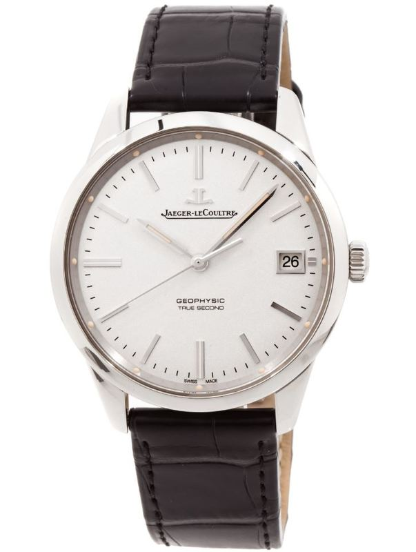 Jaeger lecoultre q8018420 geophysic automatic men 39 s watch for Geophysic watches