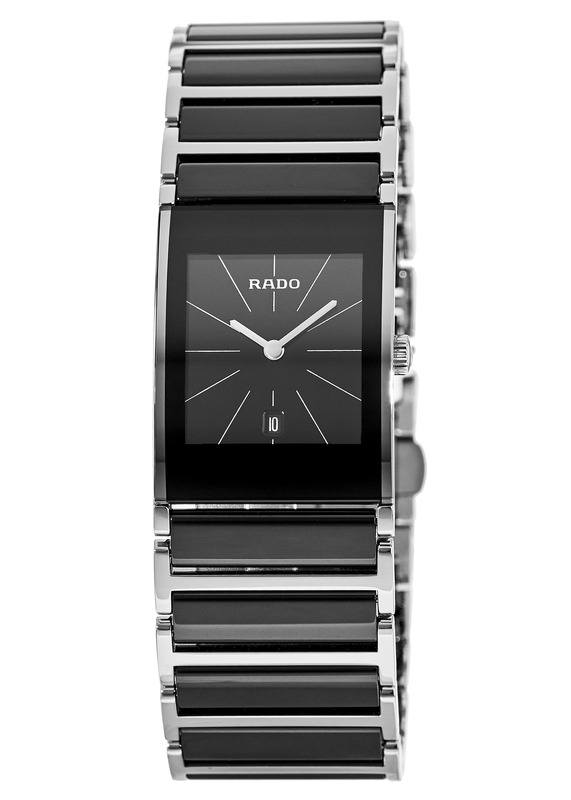 Rado Integral Black Ceramic   Steel Women s Watch R20785152 05d319ef1