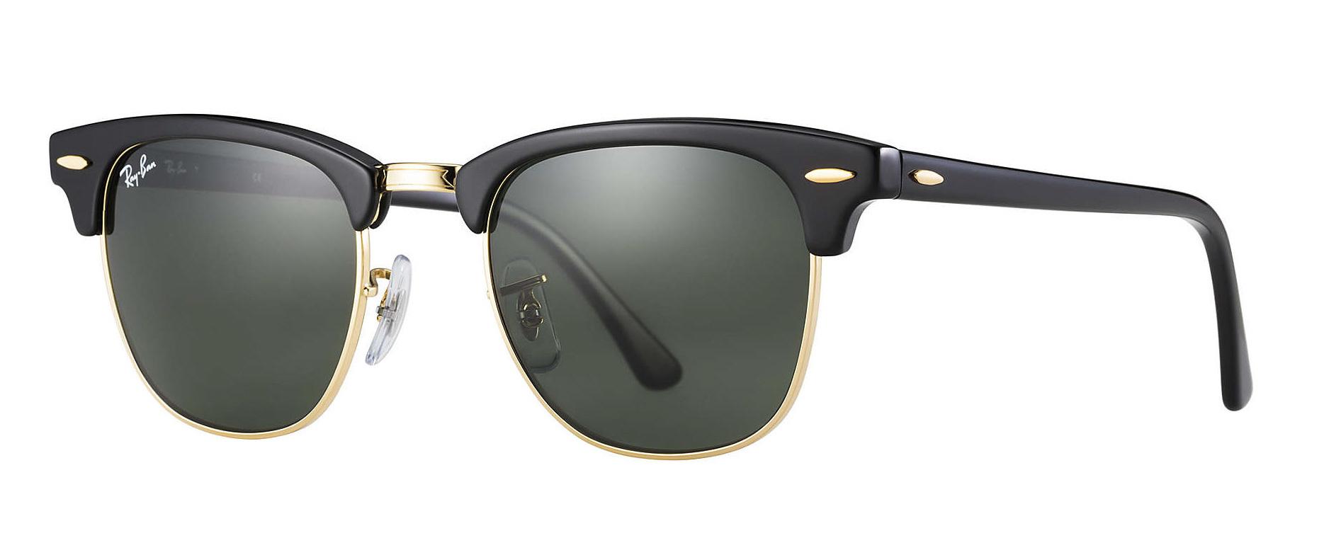 835437e7ca Ray-Ban Clubmaster Classic Sunglasses RB3016 W0365 51-21
