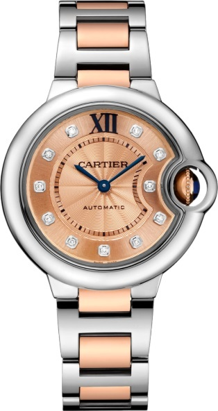 Cartier Ballon Bleu Womens Watch W3BB0002