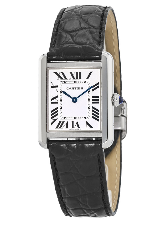 cartier tank solo womenu0027s watch w5200005