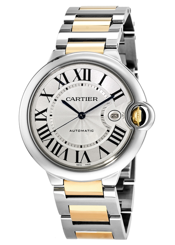 Cartier Ballon Bleu Mens Watch W69009Z3