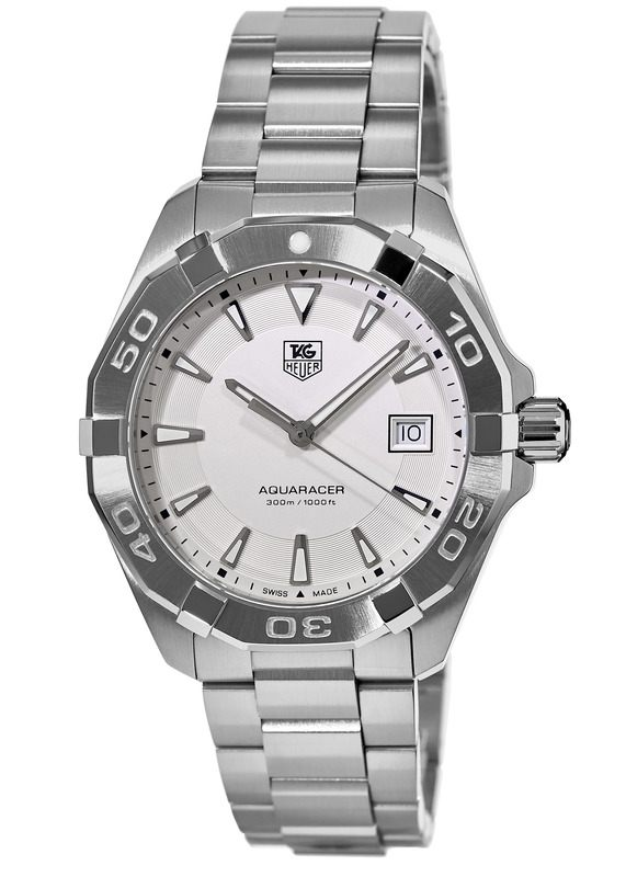 Tag Heuer Price >> Tag Heuer WAY1111.BA0928 Aquaracer 300M 40.5MM Men's Watch - WatchMaxx.com