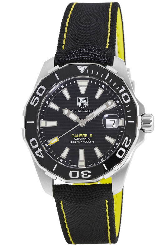 100 Questions Tag >> Tag Heuer WAY211A.FC6362 Aquaracer 300M Automatic Men's Watch - WatchMaxx.com