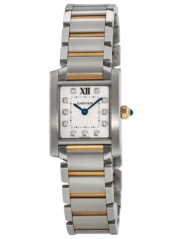 innovative design 6a0b8 27ad5 Cartier Tank Francaise Women's Watch WE110004