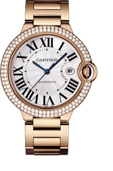 Cartier Ballon Bleu Mens Watch WE9008Z3
