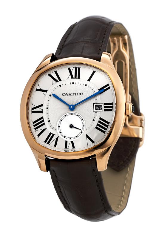 Cartier Drive De Cartier Men s Watch WGNM0003. 18kt Rose Gold Case ... d15e67b38