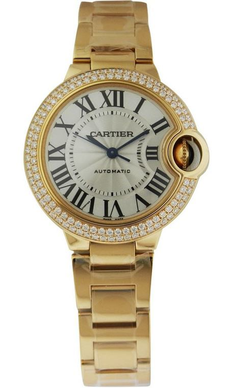Cartier Ballon Bleu Womens Watch WJBB0002
