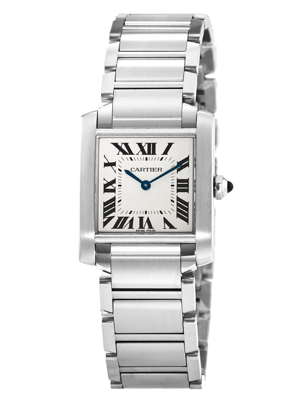 b3afb9881ff0d Cartier Tank Francaise Women s Watch WSTA0005. Brushed and Polished Stainless  Steel ...