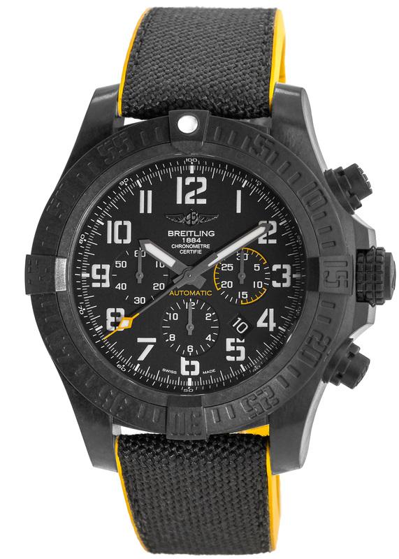 Breitling xb0170e4 bf29 257s avenger hurricane men 39 s watch for Avenger watches